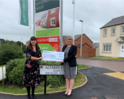 Persimmon Homes Charity Cheque