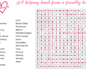 Wordsearch Answers July